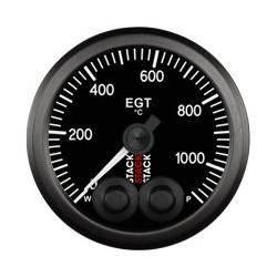 Pakokaasun lämpötilamittari (0 - 1100øC)