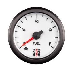 Polttoainemäärämittari, Valkoinen tausta