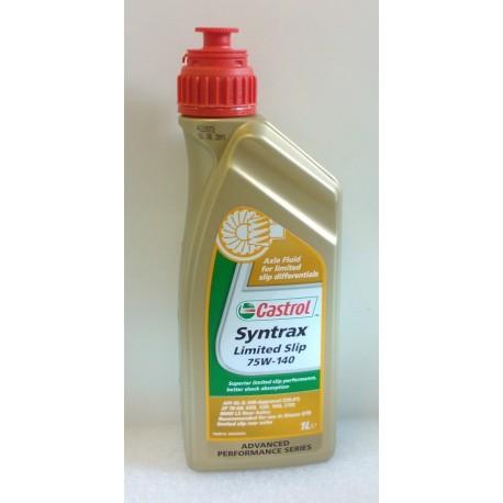 Castrol Syntrax Limited Slip 75W-140 vetopyörästö-öljy