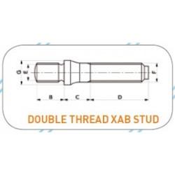 Pinnapultti M12x1.25 - M12x1.25
