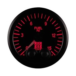 Polttoainepainemittari (0-15 PSI)
