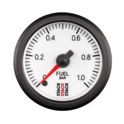 Polttoainepainemittari (0-1 bar), Valkoinen tausta