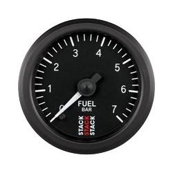 Polttoainepainemittari (0-7 bar), Musta tausta