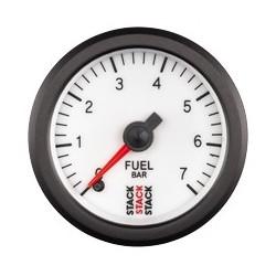Polttoainepainemittari (0-7 bar), Valkoinen tausta