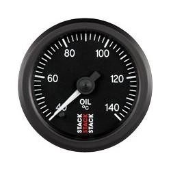 Öljyn lämpötilamittari (40 - 140øC), Musta tausta