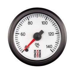Öljyn lämpötilamittari (40 - 140øC), Valkoinen tausta