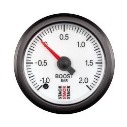Ahtopainemittari (-1.0 - +2.0 bar), Valkoinen tausta