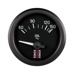 Öljyn lämpötilamittari (60 - 150øC), Musta tausta